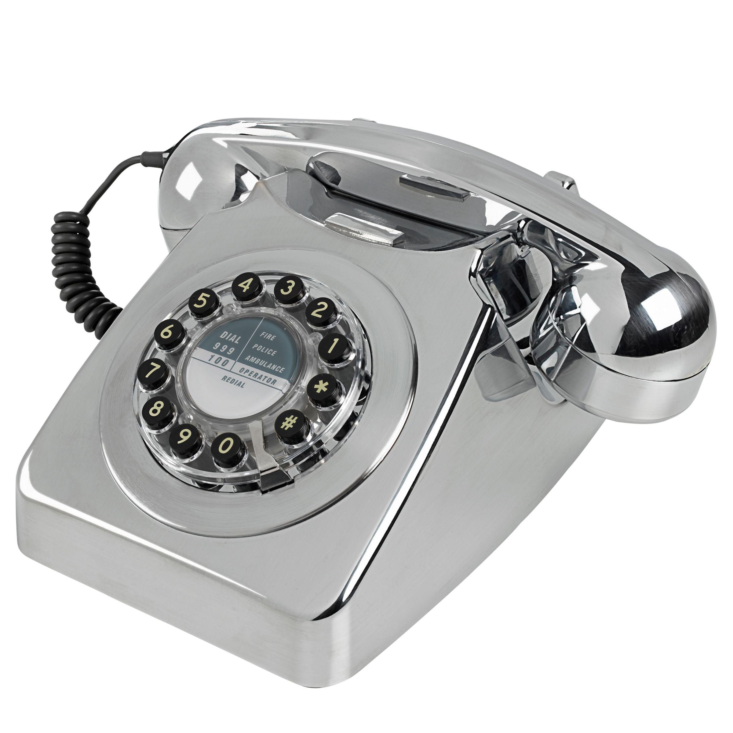Wild & Wolf Wild & Wolf 746 1960s Corded Telephone, Copper