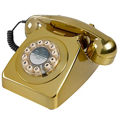 Wild & Wolf 746 1960s Corded Telephone, Copper