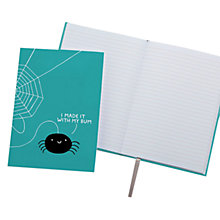 Buy Ohh Deer Spider Web Soft Notebook, A5 Online at johnlewis.com