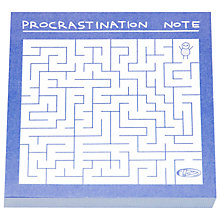 Buy Ohh Deer Procratination Post It Notes Online at johnlewis.com