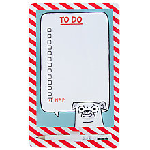 Buy Gemma Correll Magnetic Shopping List Online at johnlewis.com