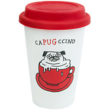 Buy Gemma Correll Thermal Pug Mug Online at johnlewis.com