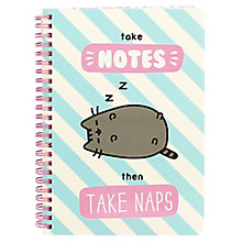 Buy Pusheen A5 Notebook Online at johnlewis.com