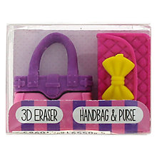 Buy Blueprint Handbag & Purse Erasers, Pack of 2 Online at johnlewis.com