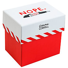 Buy Gemma Correll Nope Memo Cards Online at johnlewis.com