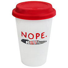 Buy Gemma Correll Nope Thermal Mug Online at johnlewis.com