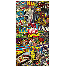 Buy Disney Marvel Banner, 120 x 180cm Online at johnlewis.com