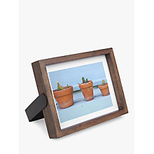"Buy Umbra Axis Photo Frame, 5 x 7"", Walnut Online at johnlewis.com"
