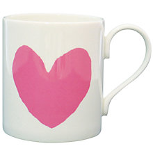 Buy McLaggan Smith 'Pink Heart' Mug Online at johnlewis.com
