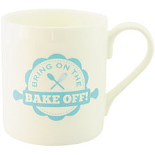 Buy McLaggan Smith Hey! Holla 'Bring On The Bake Off' Mug Online at johnlewis.com