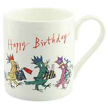 Buy McLaggan Smith Quentin Blake 'Happy Birthday' Mug Online at johnlewis.com