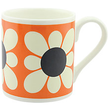 Buy Orla Kiely Square Daisy Flower Mug Online at johnlewis.com