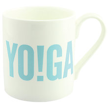 Buy McLaggan Smith Hey! Holla 'Yo!Ga' Mug Online at johnlewis.com