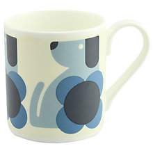 Buy Orla Kiely Dog Mug, Blue Online at johnlewis.com