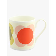 Buy Orla Kiely Circle Flower Mug, Large Online at johnlewis.com
