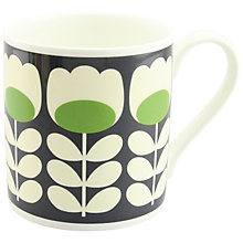 Buy Orla Kiely Tulip Stem Large Mug, Green Online at johnlewis.com