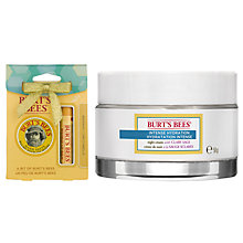 Buy Burt's Bees Intense Hydration Night Cream, 50g: With FREE Gift Online at johnlewis.com