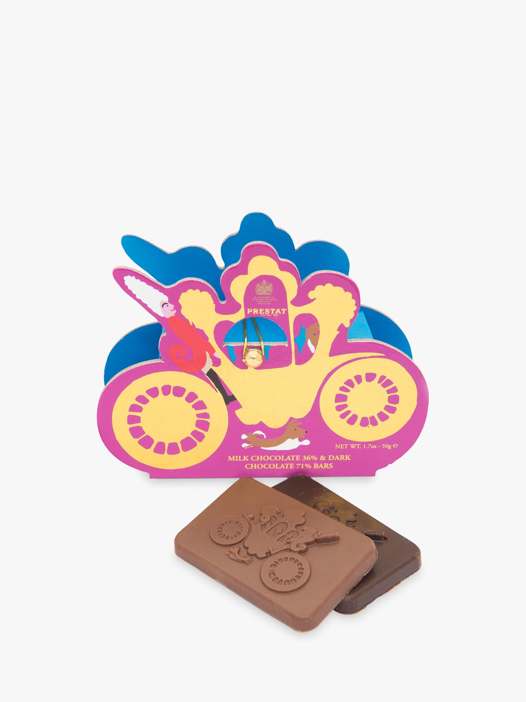 Prestat Prestat Carriage Milk & Dark Chocolate Box