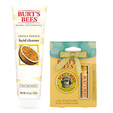 Buy Burt's Bees Orange Essence Facial Cleanser, 120g: With FREE Gift Online at johnlewis.com