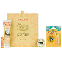 Buy Burt's Bees Nuts About Nature Lip Hand & Foot Set: With FREE Gift Online at johnlewis.com