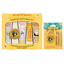 Buy Burt's Bees Essential Kit: With FREE Gift Online at johnlewis.com