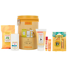 Buy Burt's Bees® Nature's Treat Gift Set: With FREE Gift Online at johnlewis.com