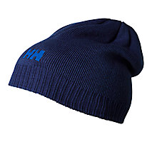 Buy Helly Hansen Ribbed Logo Beanie, One Size, Purple Online at johnlewis.com