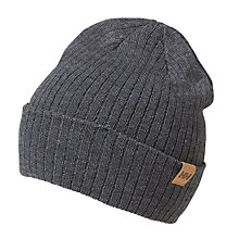 Buy Helly Hansen Business Beanie, One Size, Grey Online at johnlewis.com