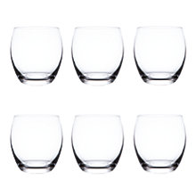 Buy John Lewis Barrel Tumbler, Clear, Set of 6 Online at johnlewis.com