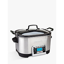 Buy Breville Crock-Pot CSC024 5.6L Digital Slow and Multi Cooker Online at johnlewis.com