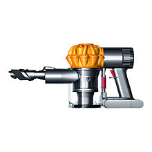 Buy Dyson V6 Trigger Handheld Vacuum Cleaner, Yellow Online at johnlewis.com