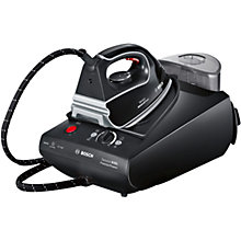 Buy Bosch TDS3562GB Sensixx PremierPower Steam Generator Iron, Black Online at johnlewis.com