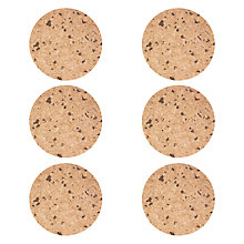 Buy House by John Lewis Speckled Cork Placemats, Set of 6 Online at johnlewis.com