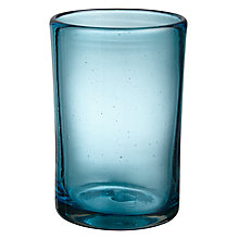 Buy John Lewis Mexicana Recycled Highball, Blue Online at johnlewis.com