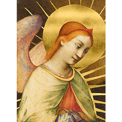 Fitzwilliam Masterpieces Angel Charity Christmas Cards, Pack of 5