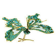 Buy John Lewis Shangri-La Butterfly Tree Clip, Blue Online at johnlewis.com