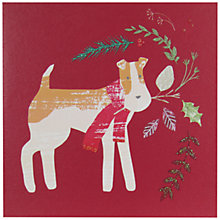 Buy John Lewis Christmas Dog Charity Christmas Cards, Pack of 6 Online at johnlewis.com
