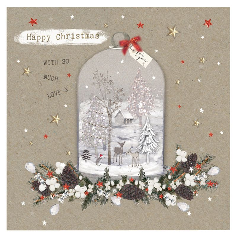 Hammond Gower Hammond Gower Christmas Cloche Charity Christmas Cards, Pack of 5
