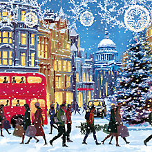 Buy Museum And Galleries Christmas Eve Charity Christmas Cards, Pack of 5 Online at johnlewis.com