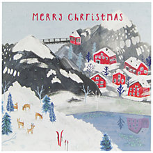 Buy John Lewis Chamonix Scene Charity Christmas Cards, Pack of 6 Online at johnlewis.com