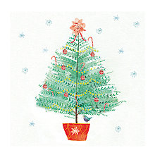Buy Paperhouse Christmas Tree Charity Christmas Cards, Pack of 6 Online at johnlewis.com
