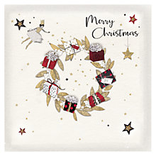 Buy Hammond Gower Christmas Wreath Charity Christmas Cards, Pack of 5 Online at johnlewis.com
