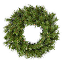 Buy John Lewis Ruskin House Basic Spruce Wreath Online at johnlewis.com