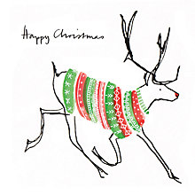 Buy Museums And Galleries A Jumper For Rudolph Charity Christmas Cards, Pack of 8 Online at johnlewis.com