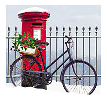 Buy Almanac 'Bike N Box' Charity Christmas Cards, Pack of 8 Online at johnlewis.com