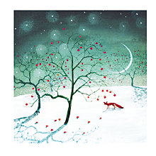 Buy Almanac Apples In The Snow Charity Christmas Cards, Pack of 8 Online at johnlewis.com