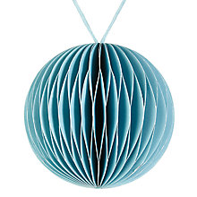 Buy John Lewis Snowshill Concertina Paper Bauble Online at johnlewis.com