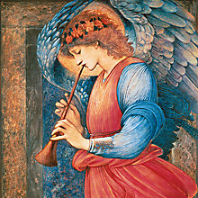 Buy Museums And Galleries Angel Playing A Flageolet Charity Christmas Cards, Pack of 5 Online at johnlewis.com