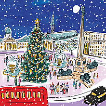 Buy Museums And Galleries Christmas in Trafalgar Square Charity Christmas Cards, Pack of 8 Online at johnlewis.com