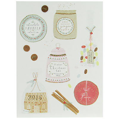 Product photo of John lewis christmas jars charity christmas cards pack of 6